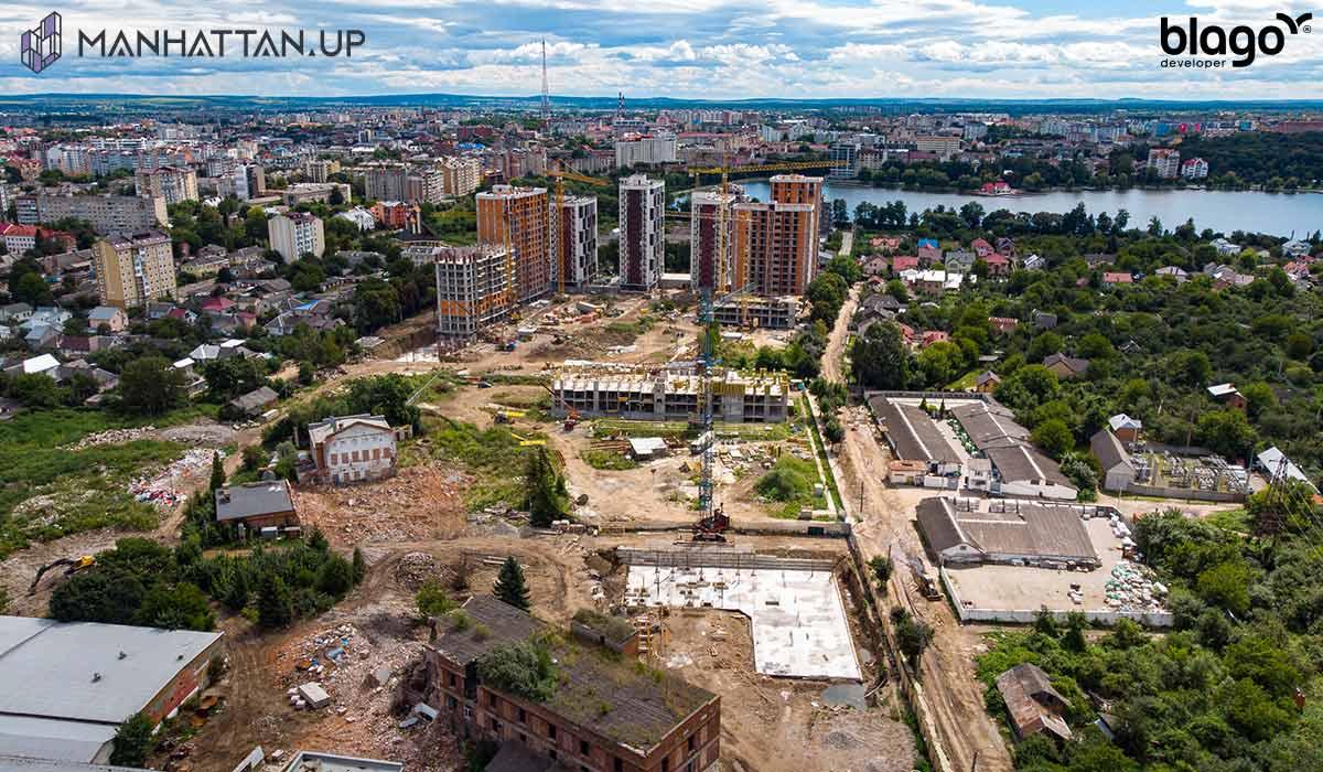 Будівництво Manhattan UP розпочато!